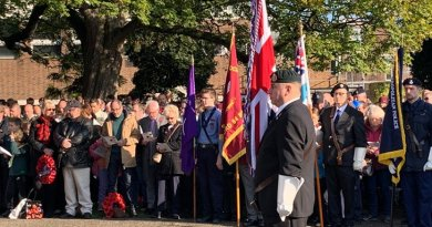 Havering remembers the fallen
