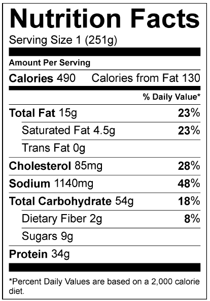 8 Oz Cooked Chicken Breast Nutrition : cooked, chicken, breast, nutrition, Boneless, Skinless, Chicken, Breast, Nutrition, Facts, NutritionWalls