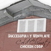 How-To Monday: Successfully Ventilate the Cold Climate Chicken Coop