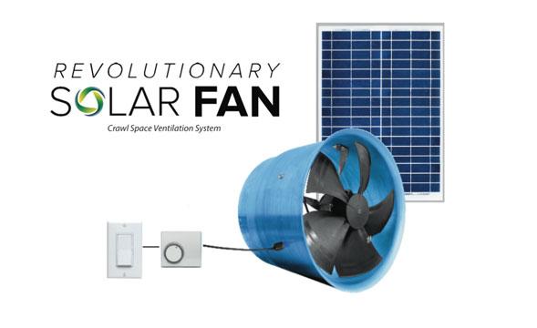 solar crawl space fan crawl space