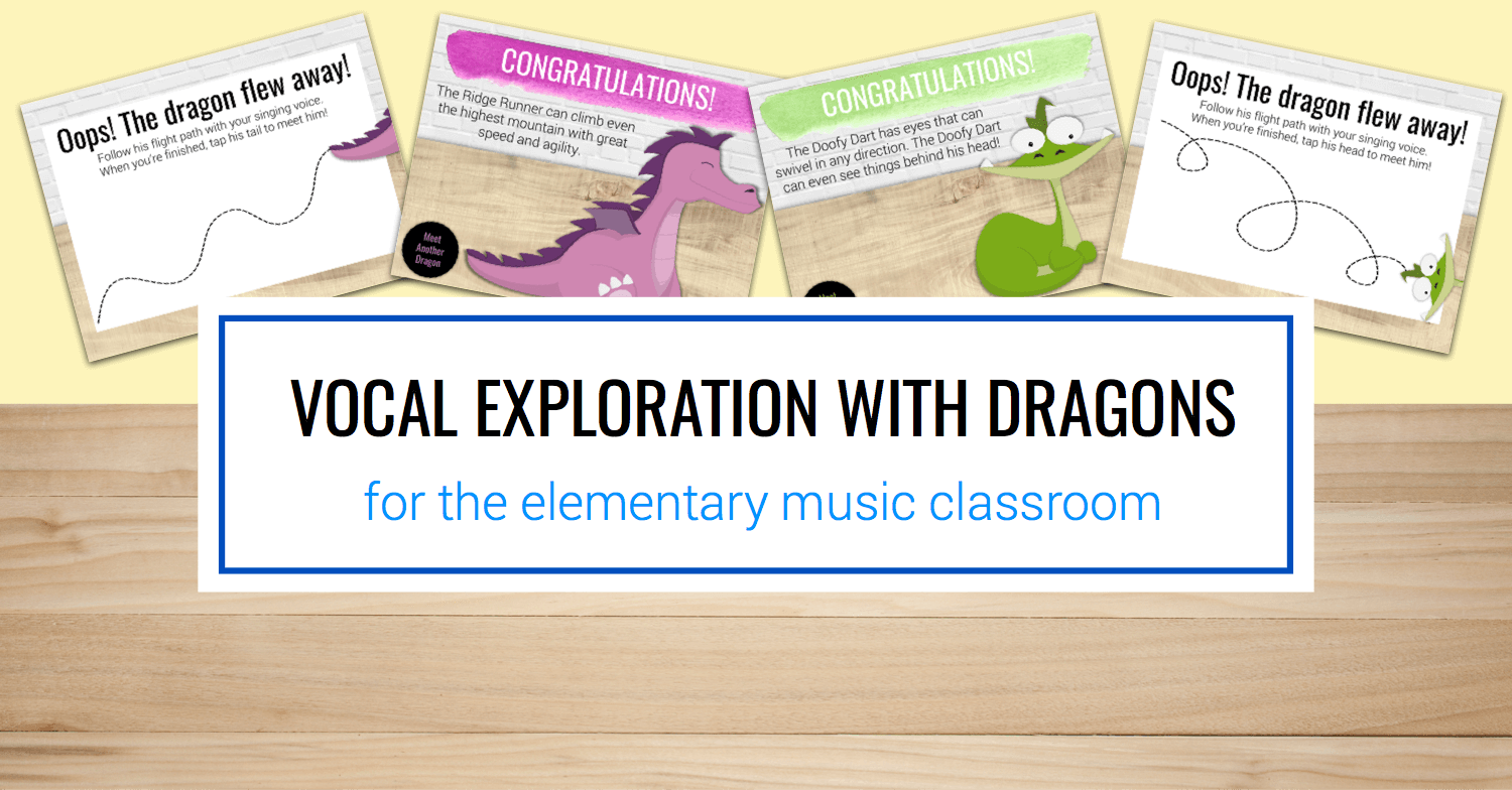 Vocal Exploration with Dragons