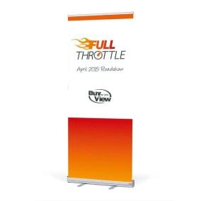 Full Throttle Branding Pull-Up Stand