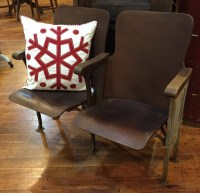 Antique Theater Chairs