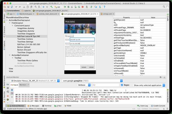Công cụ lập trình Android - Layout Inspector