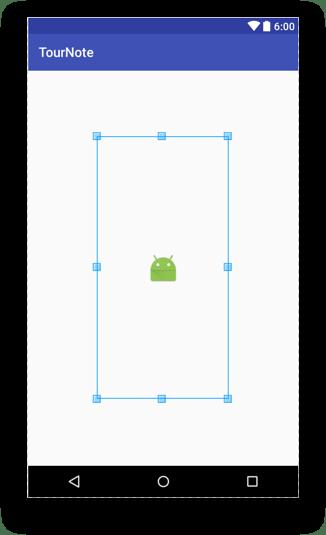 Tạo giao diện người dùng - Scale center
