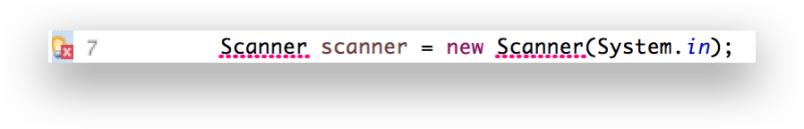Khi bạn code có thể gặp tình huống báo lỗi như này