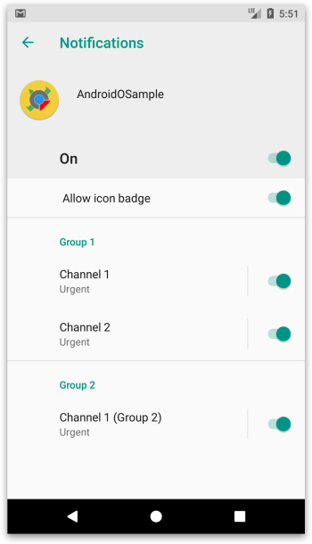 Android O - Notification Theo Từng Kênh