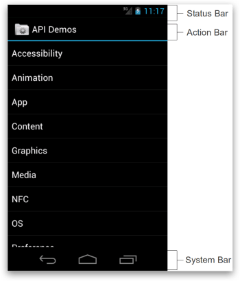 ActionBar - Android 4.x