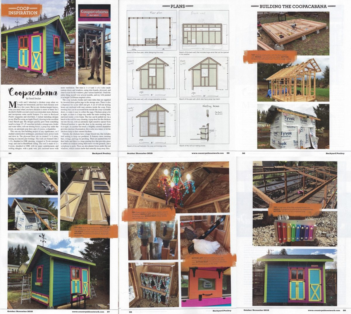 Backyard Poultry Magazine Article Yellow Cottage Homestead