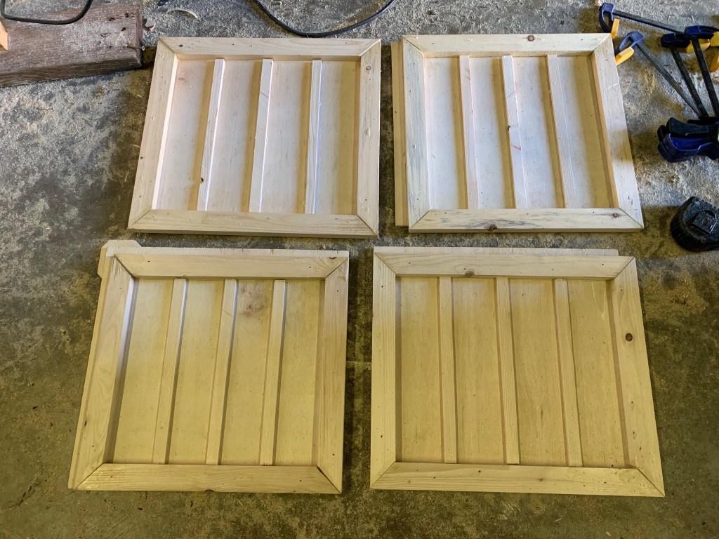 Board & batten on doors