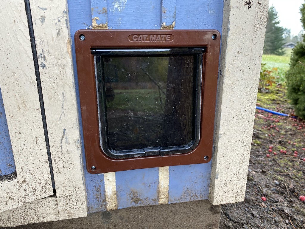 Outside installed