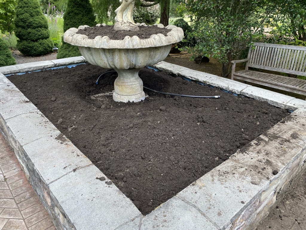 More soil
