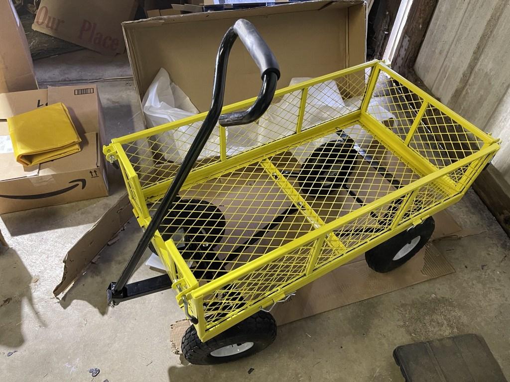 Assembled cart