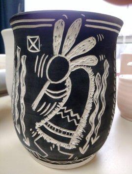 Sgrafitto Vase #2