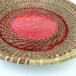 Pine Needle Weaved Basket