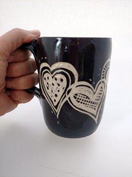 Coffee mug stoneware