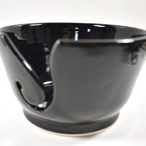 Black Yarn Bowl