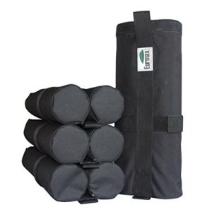 Euromax canopy canvas weight bags