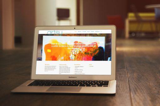 Artsy Charlotte Web & Logo Design