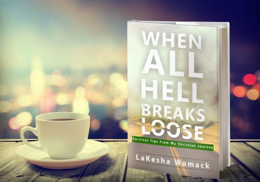 When All Hell Breaks Loose Book Cover Design