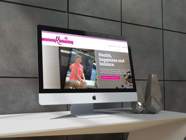 WomenRAmazing Web design