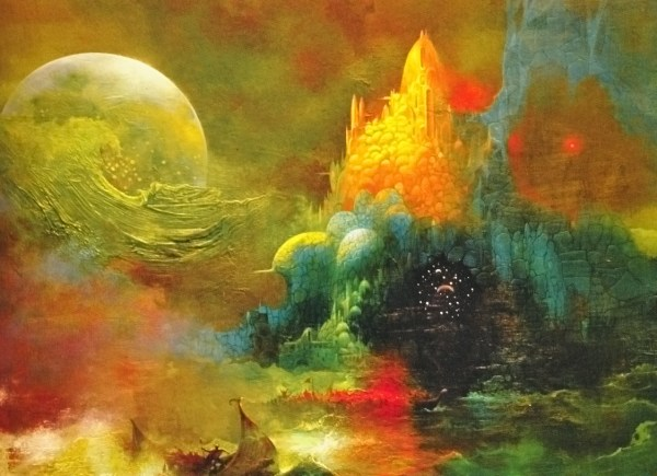Adventures In Art Paul Lehr Battered Tattered Yellowed & Creased