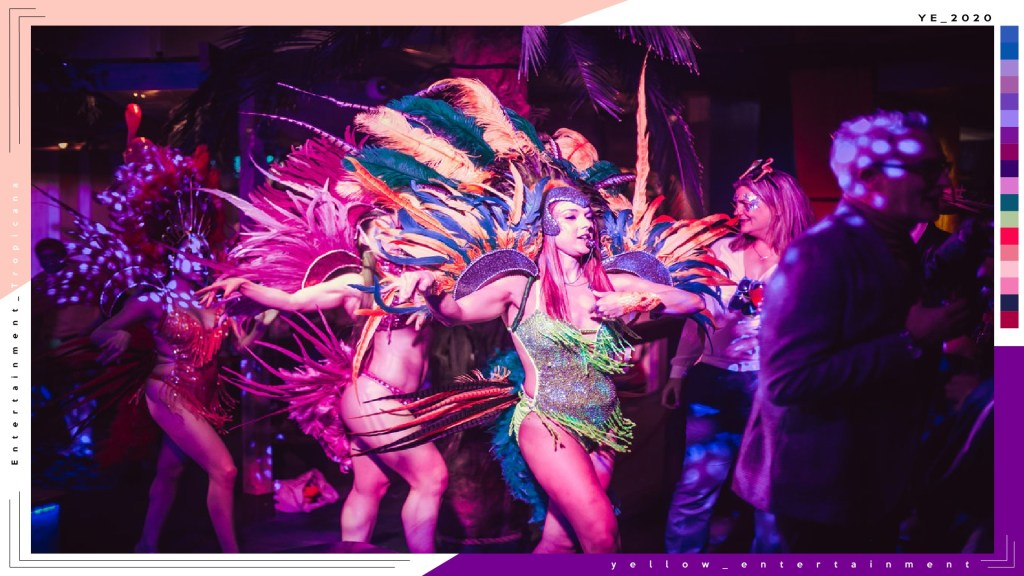 tropicana dancers entertainment