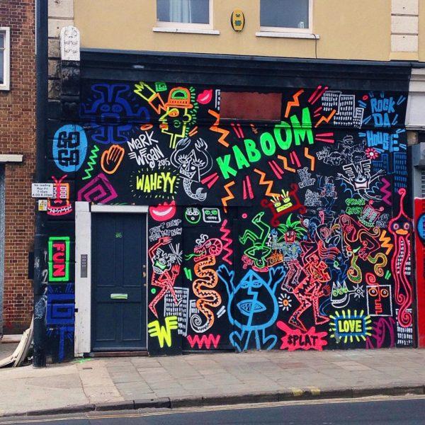 Beautiful Bristol Street Art - Yellow Feather