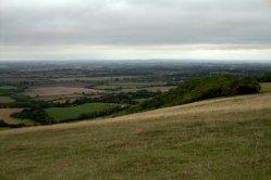 Far reaching views from the Uffington White Horse