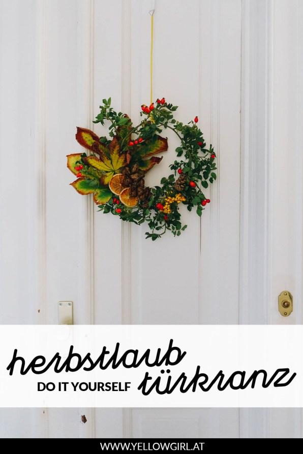 yellowgirl-Herbstdeko--DIY-Herbstlaub-Türkranz-P2