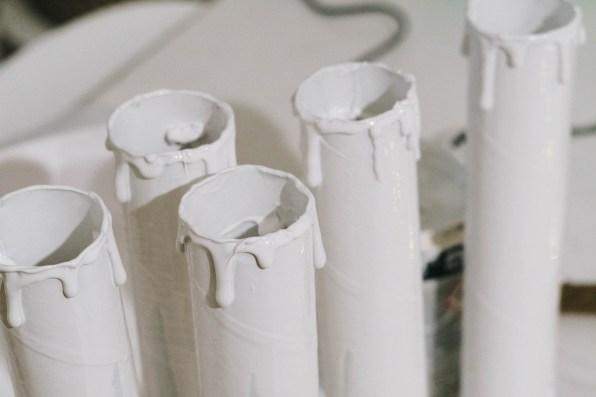 Hallowen- DIY Kerzen aus Küchenrollen (2 von 13)