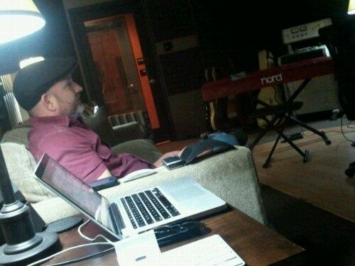 Tracking at Foxtrot Studio (6/6)
