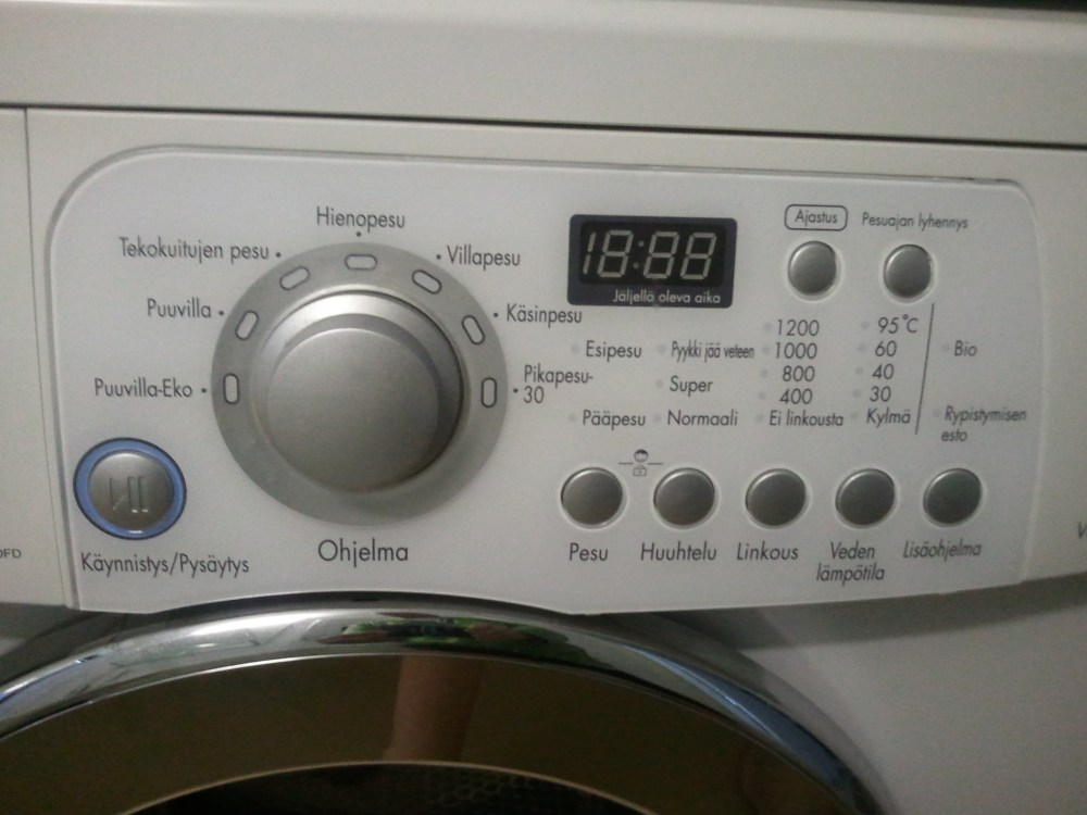 Doing Laundry in a Foreign Country (1/2)