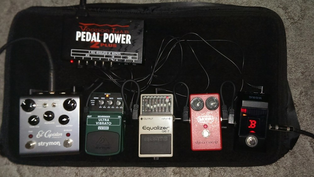 On white paint markers, pedal boards, and singing (3/3)