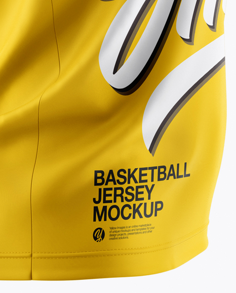 Download Basketball Jersey Mockup - Side View in Apparel Mockups on ...