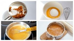 процесс приготовления мороженого