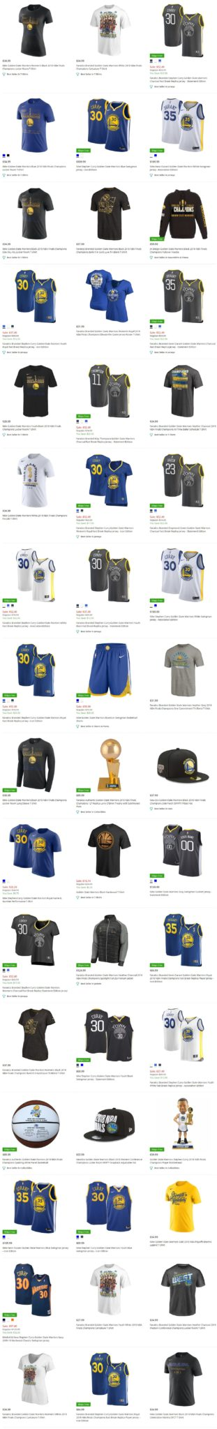 Golden State Warriors Apparel, GSW Team Store \u2013 FATHERS DAY Top 10 Deals \u2013  Groupon, Amazon, Airfare, etc