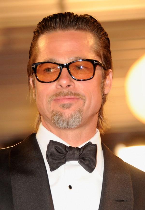 Brad Pitt with Yellow Sunglasses