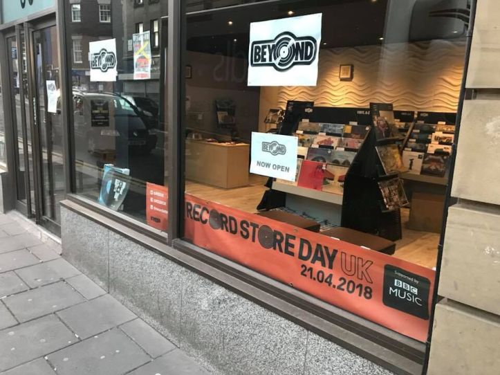 Searching for records in Newcastle - Beyond store