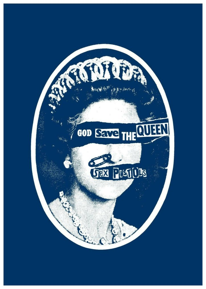 """""""God Save The Queen"""" poster"""