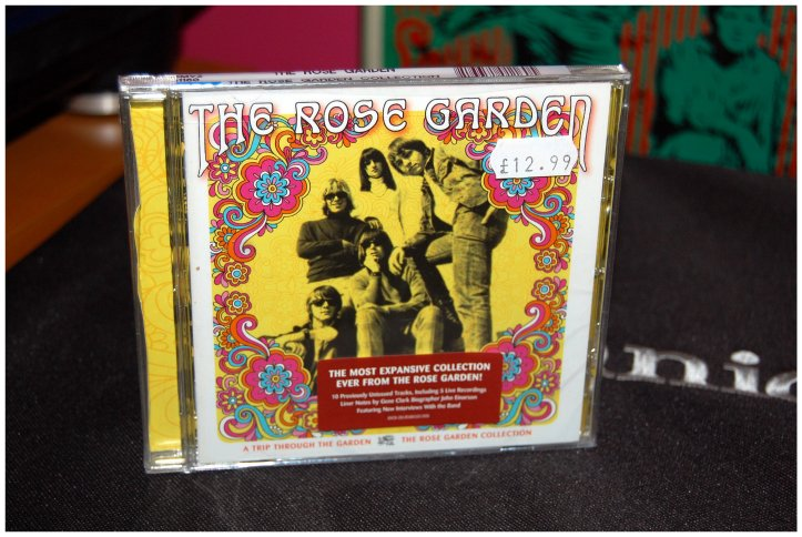 Searching for records in Newcastle - The Rose Garden CD
