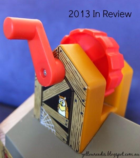 2013 in Review, yellowreadis.com Image Toy crank