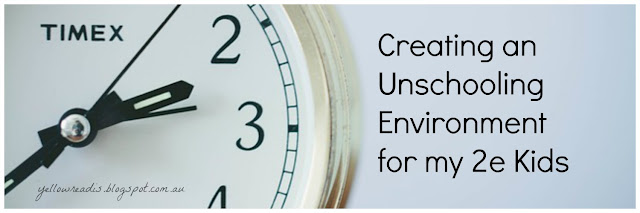 Creating an Unschooling Environment for my 2e Kids, Image: Analog clock