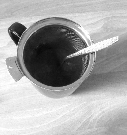 Image: Tea in mug with spoon