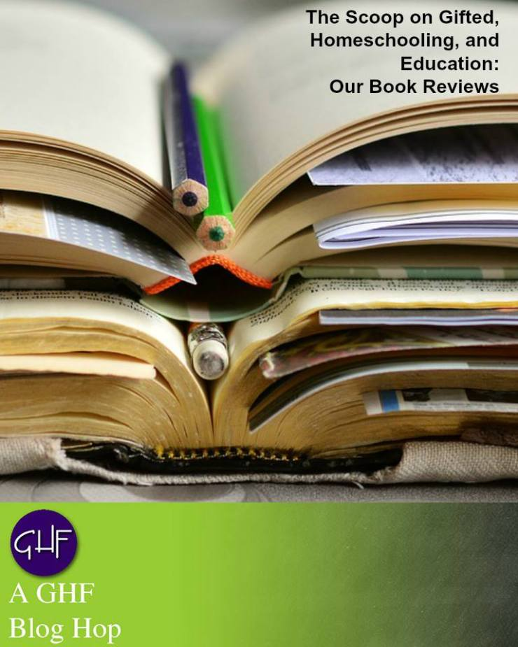 Test: The Scoop on Gifted, Homeschooling and Education: Our Book Reviews. Image: Open books with pencils in the spine
