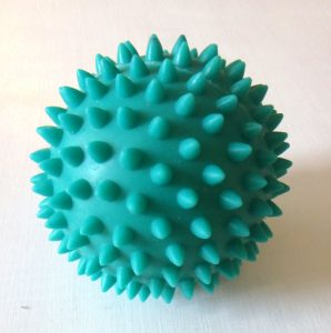 Transitions Are Hard: Here are Things That Help, yellowreadis.com  Image: Green spiky fidget ball