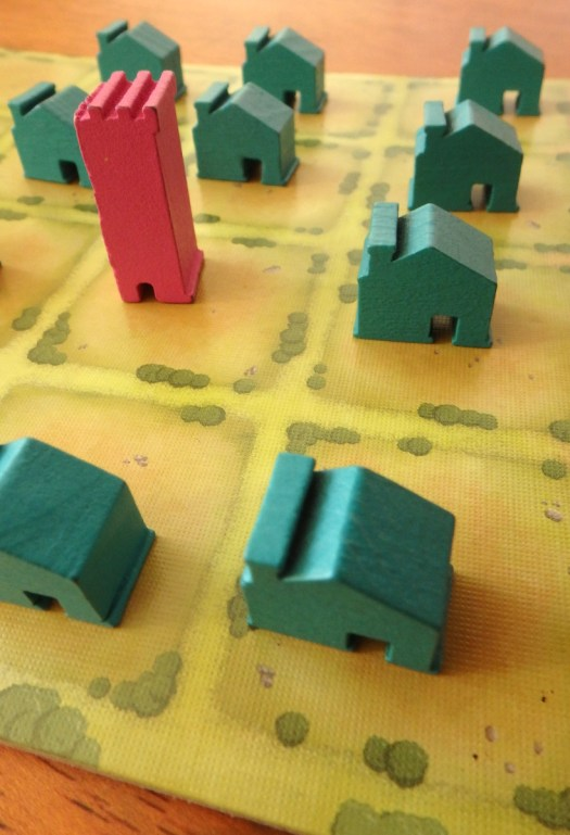 Most Gifted Children Have Never Been Studied | yellowreadis.com  Image: Yellow game board with green wooden house and a red castle.