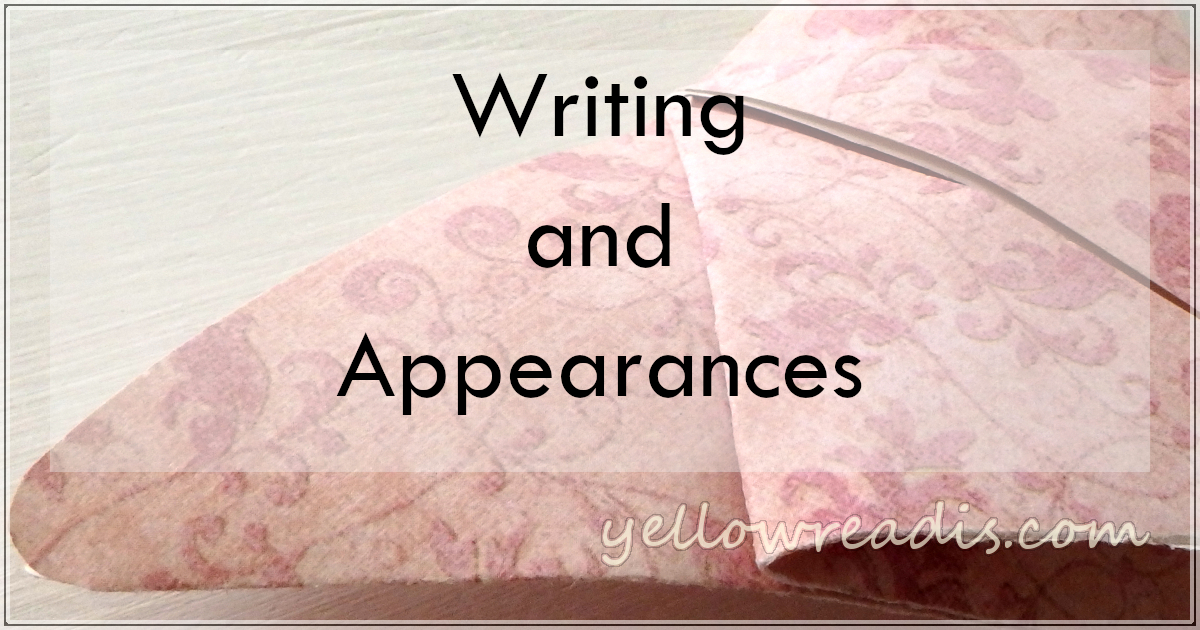 Writing and Appearances, yellowreadis.com | Image: Origami butterfly on pale wood background