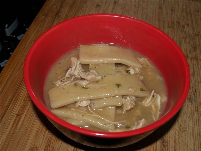 Appalachian Stew called Chicken and Slicks