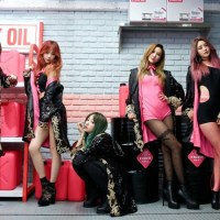 "EXID's ""Hot Pink"" Teasers Have Hani In A Latex Suit And Junghwa In A Tub Of Lube"